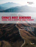 China's Most Generous: Examining Trends in Contemporary Chinese Philanthropy
