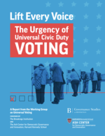Lift Every Voice: The Urgency of Universal Civic Duty Voting