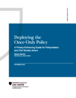 Deploying the Once-Only Policy: A Privacy-Enhancing Guide for Policymakers and Civil Society Actors