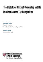 The Globalized Myth of Ownership and Its Implications for Tax Competition, CCDP 2018-004, June 2018.