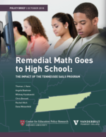 Remedial Math Goes to High School: The Impact of the Tennessee SAILS Program