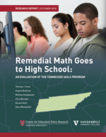 Remedial Math Goes to High School: An Evaluation of the Tennessee SAILS Program