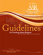 Guidelines for Teaching About Religion in K-12 Public Schools in the United States.