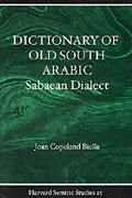 Dictionary of Old South Arabic: Sabaean Dialect