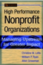 High Performance Nonprofit Organizations