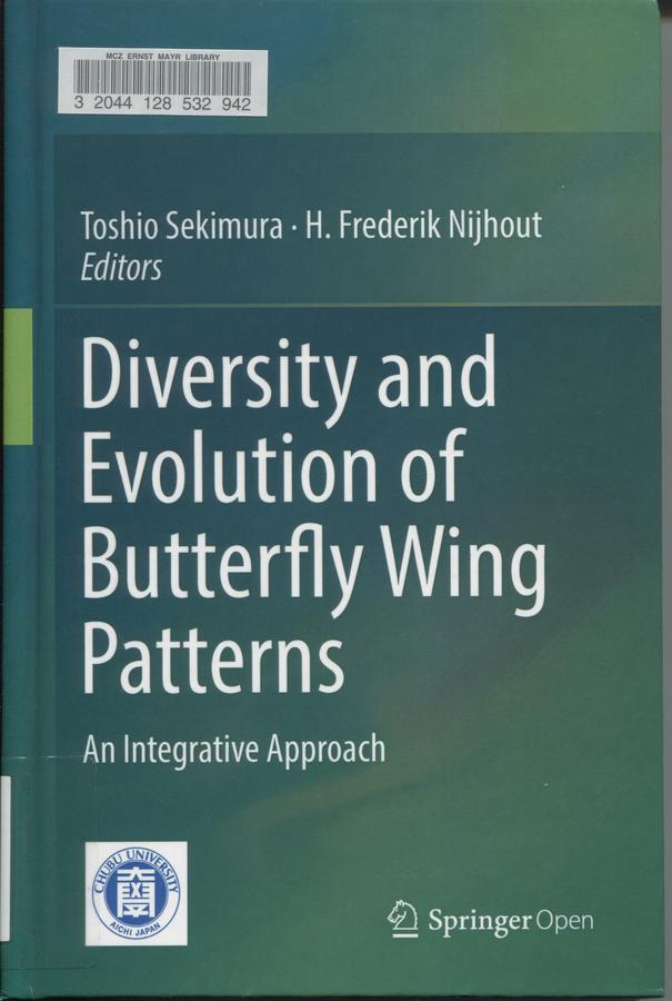 Diversity and evolution of butterfly wing patterns: an integrative approach