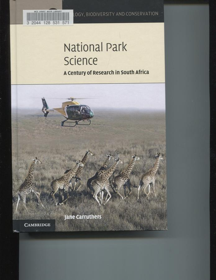 National park science: a century of research in South Africa