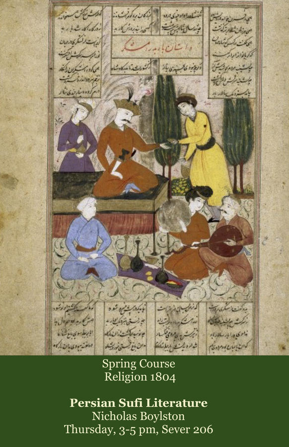 Rel 1804: Persian Sufi Literature, Boylston