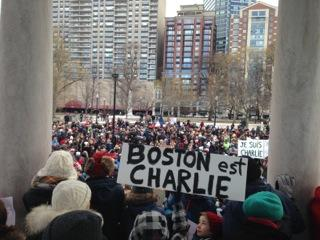 Taken Sunday January 11 in the Boston Commons, and should be credited to Alan Greene and Stacey Bourns. Permissions given