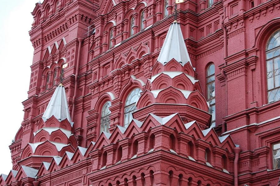 State Historical Museum in Red Square, Moscow, Russia