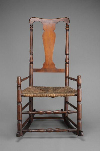 Excellent Queen Anne Rocker Gamerscity Chair Design For Home Gamerscityorg