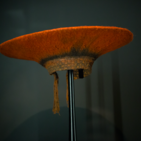 SOUTH AFRICA, ZULU HAT, CA. 1950S