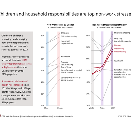 Children and household responsibilities are top nonwork stresses