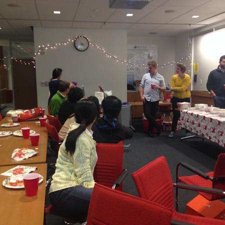 Cowan Lab Holiday Party December 2014