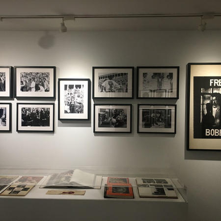 "Exhibition documentation of ""The Extraordinary Commission: Student Activism and the Birth of Afro-American Studies at Harvard"""