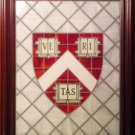 Harvard Stained Glass Shields by Vitraux