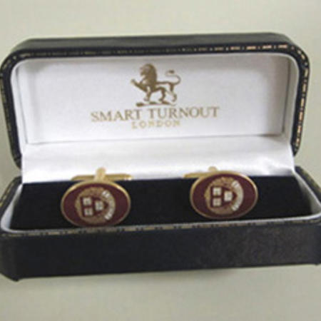 Smart Turnout Enamel Cufflinks (T-bar as shown) $40.78