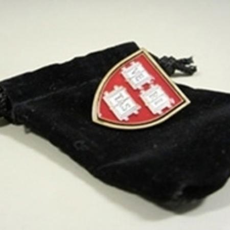 Grossman Marketing Harvard VERITAS shield Lapel Pin