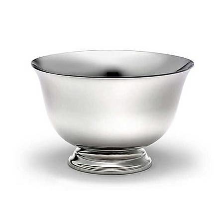 Tiffany & Co. Revere Bowl $157.87 Named after the famous American patriot, this popular Tiffany design is inspired by an original motif on display at the Boston Museum of Fine Arts. Bowl in sterling silver. 7in diameter