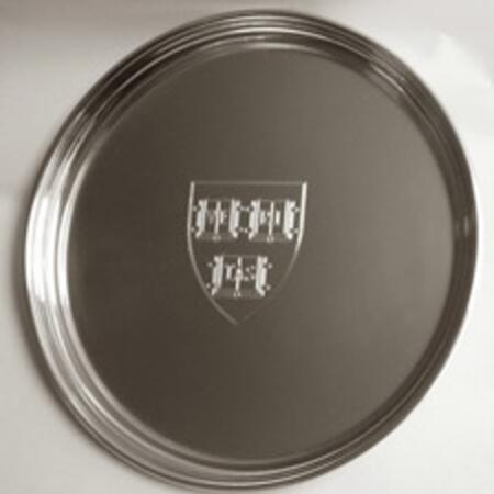 "Tiffany & Co. Pewter ""Gallery"" Bead Edge 8"" Tray - $123.87"