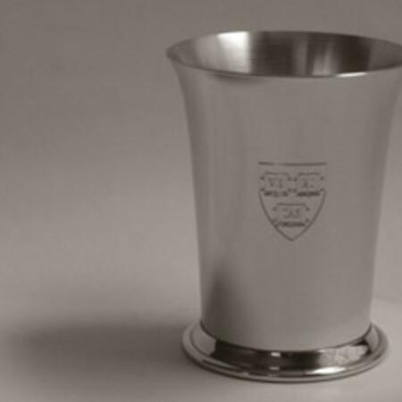 "Tiffany & Co. Pewter ""Georgetown"" 8 oz Cup - $77.39"