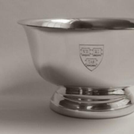 "Tiffany & Co. Pewter ""Revere"" 7"" Bowl - $157.87"