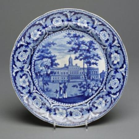 Blue and white china