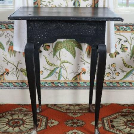 Queen Anne game table