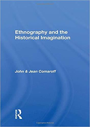 Ethnography and the Historical Imagination