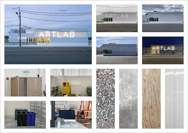 collage of artlab images