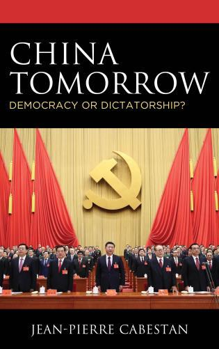 Book cover featuring Xi Jinping and members of the CPC in the Great Hall of the People