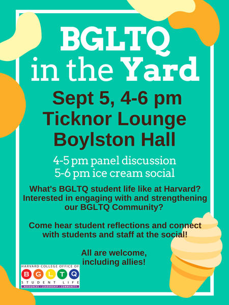 BGLTQ in the Yard poster