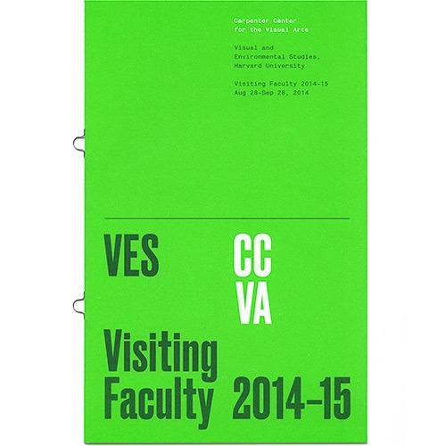 Cover of Visiting Faculty 2014–15 publication