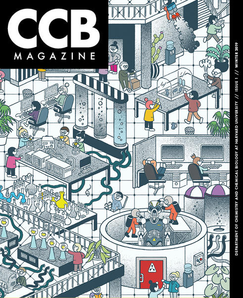 Cover of the inaugural edition of CCB Magazine