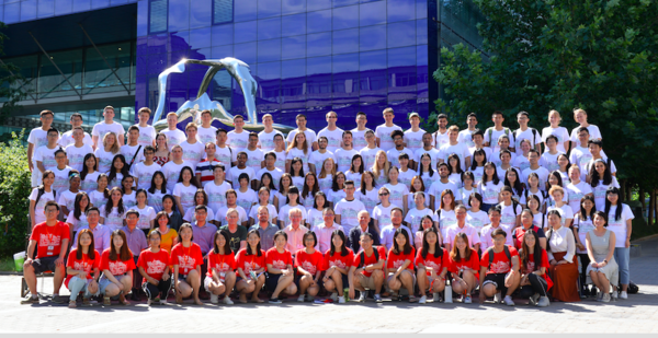summer program group photo beijing