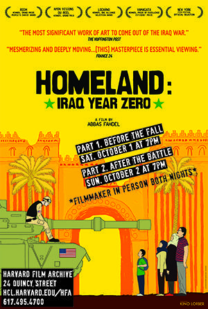 Homeland (Iraq Year Zero) poster