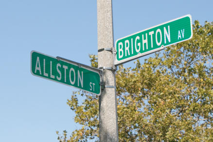 Allston Brighton Sign