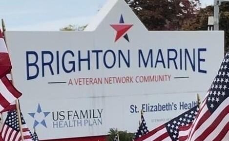 entry sign for brighton marine