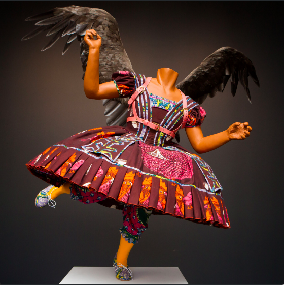 food faerie by yinka shonibare