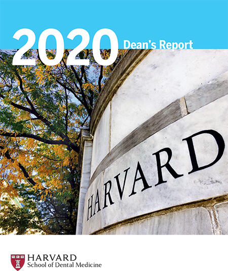 cover of 2020 annual dean's report