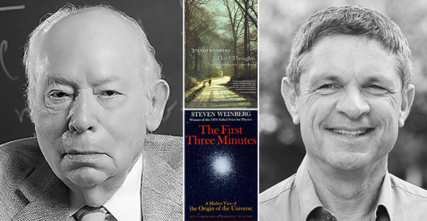 Photos of Steven Weinberg and Andrew Strominger