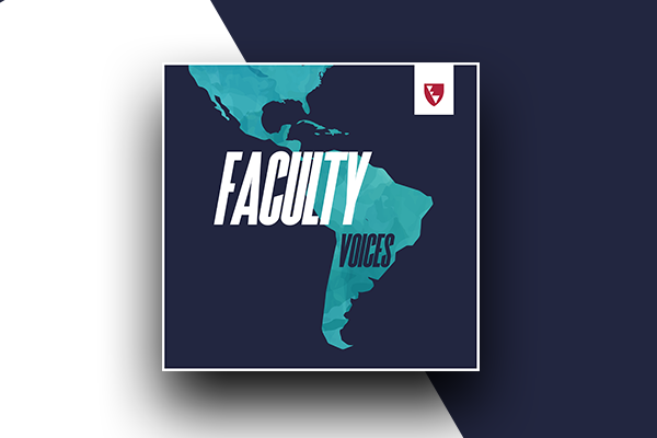 faculty voices banner