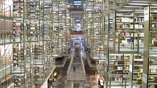 image of library in mexico city