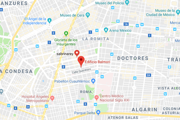 Google Map of Mexico Office