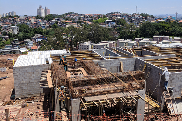 construction in Sao Paolo