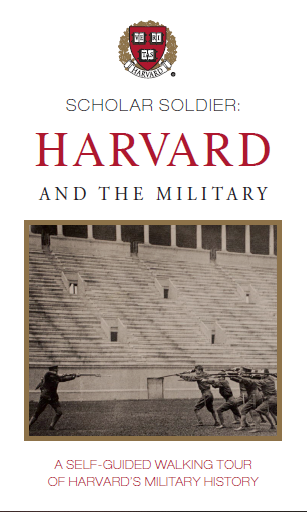 Harvard Military History Walking Tour Brochure Cover