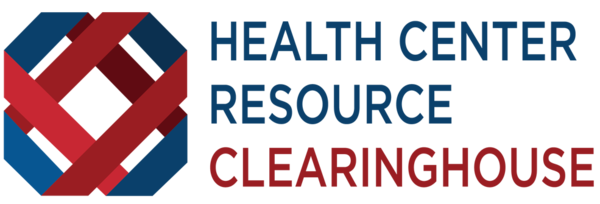 A graphic logo of the Health Center Resource Clearinghouse