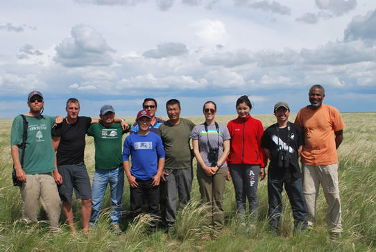 Mongolia field team 2012