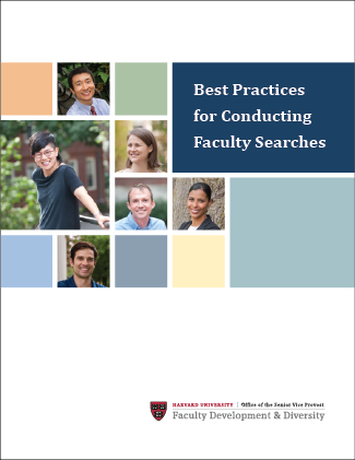 Best Practices for Conducting Faculty Searches