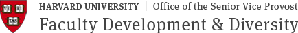 Office of Faculty Development & Diversity Logo